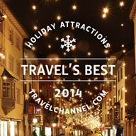 Travel Channel Best Holiday Attractions 2014