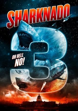 Sharknado 3 key art