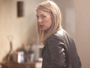 Claire Danes as Carrie Mathison in Showtime's Homeland.