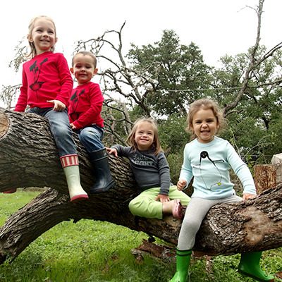 Some of the Little & Mighty crew sporting their wares. Beautiful kiddos wearing awesome clothes, doing amazing things!