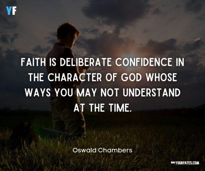 faith quotes god