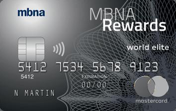 MBNA Rewards World Elite® Mastercard®-Product Image
