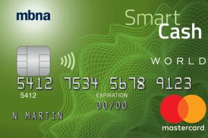 MBNA Smart Cash® World Mastercard®-Product Image