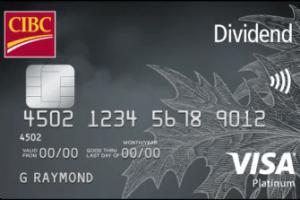 CIBC Dividend Platinum® Visa* Card-Product Image