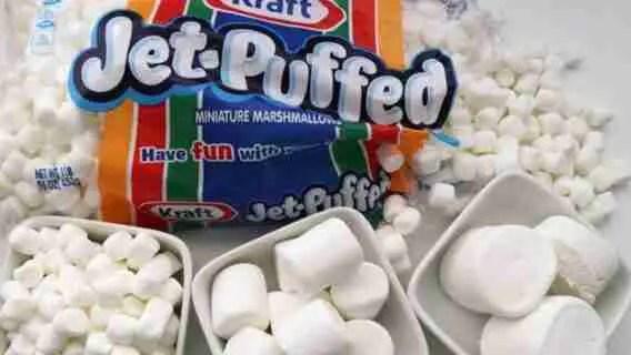 Puffed Jet Marshmallows
