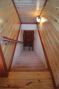 Sherwood Forest New Construction - Stairwell