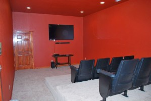 Sherwood Forest New Construction - Indoor Theater