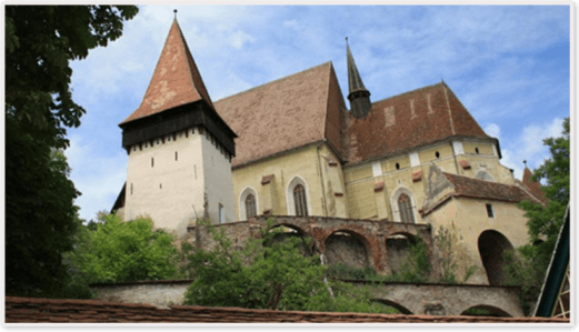biertan fortified church