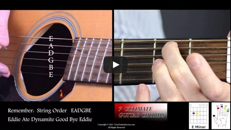 7 Ultimate Guitar Chords For Beginners Course Lesson 2