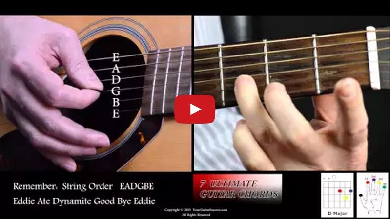 7 Ultimate Guitar Chords For Beginners Course Lesson 4