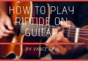 riptide chords