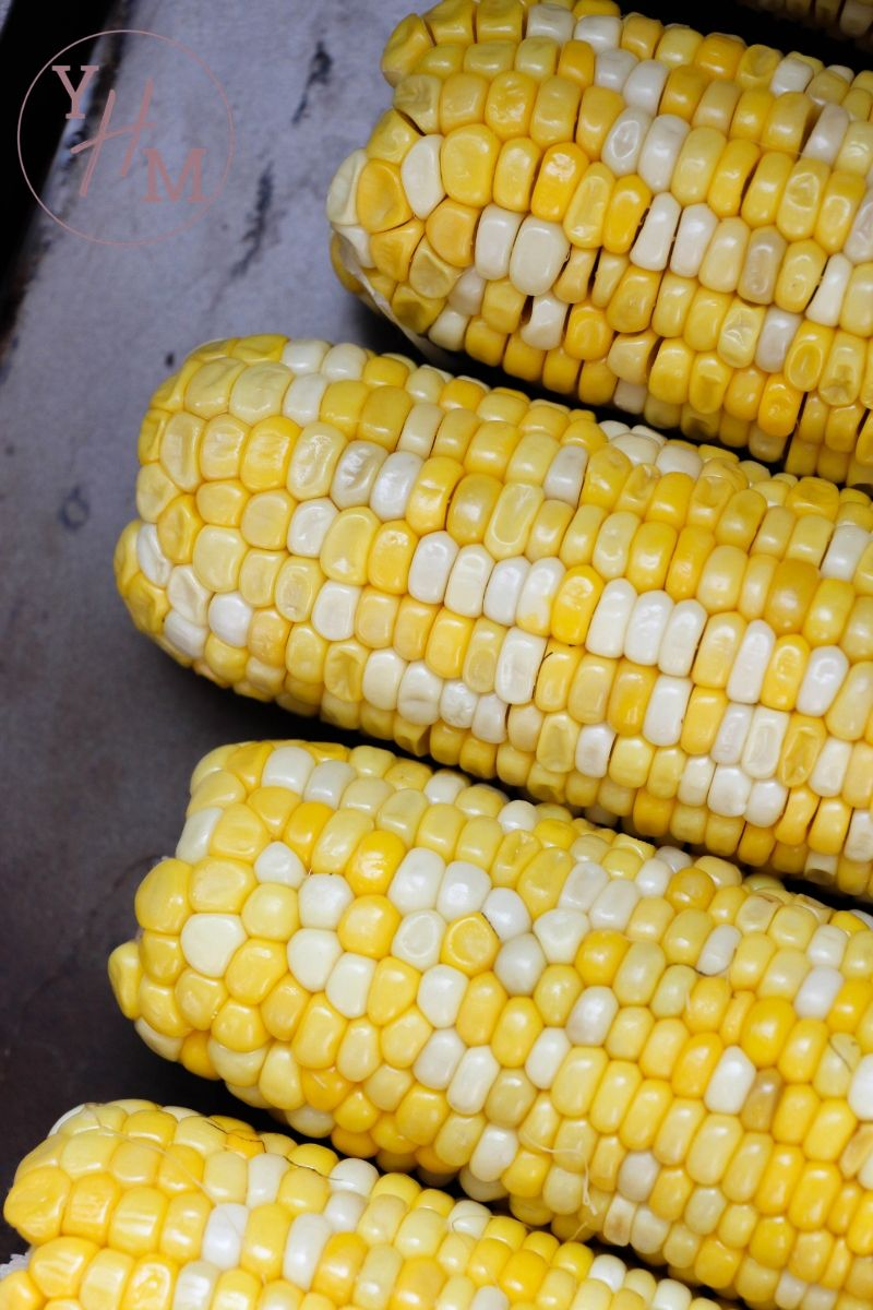 cooked corn in the Instant Pot
