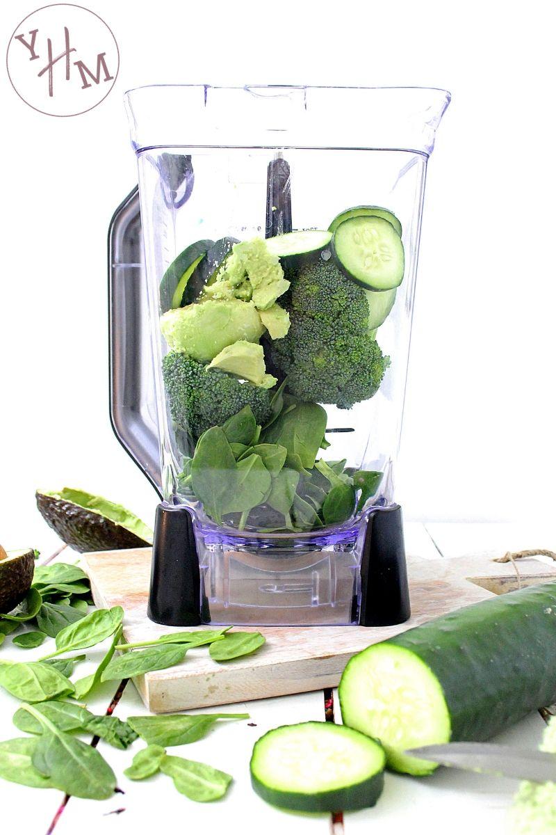 Healthy Super Green Smoothie Recipe