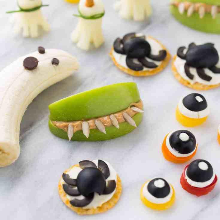 5 Healthy Halloween Kids Snacks {Gluten-Free}