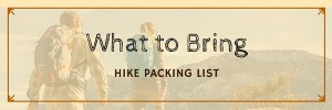 hiking list