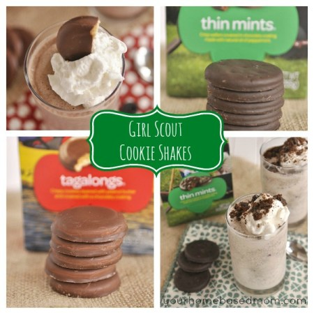 Girl Scout Cookie Shakes