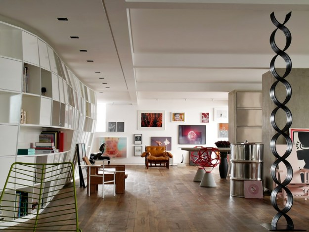 Houssein Jarouche's Apartment designet by Triptyque 1