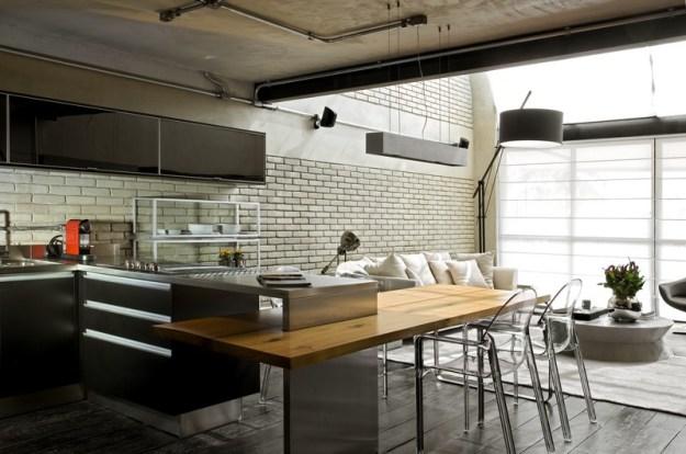 Industrial Loft designet by Diego Revollo 7