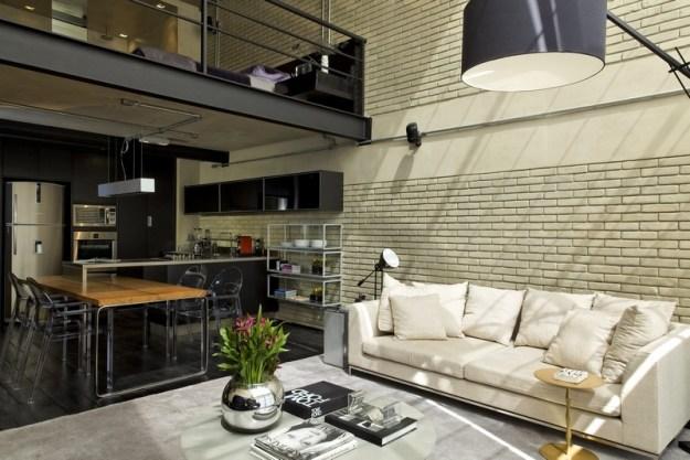 Industrial Loft designet by Diego Revollo 9