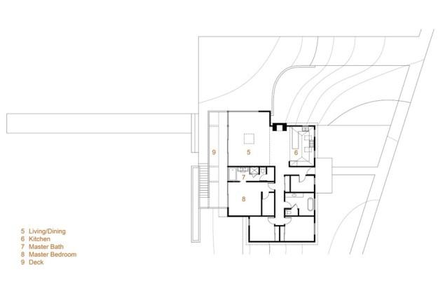 Morris House designet by Martin Fenlon Architecture 11