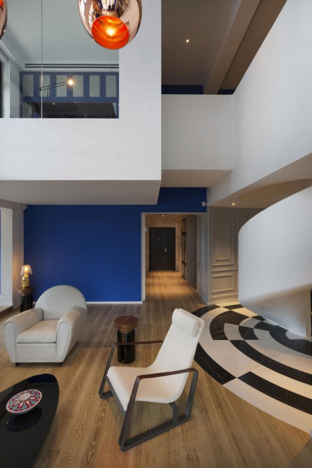 Blue Penthouse designed by Dariel Studio 4