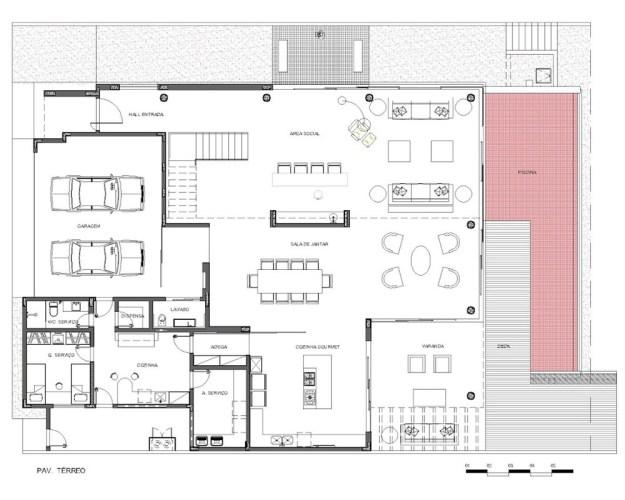 Capital House designed by Ney Lima Architect 15