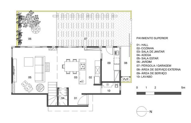 Cobogo House designed by Ney Lima Architect 14