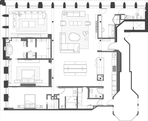 Bond Street Loft designed by Axis Mundi Design 12