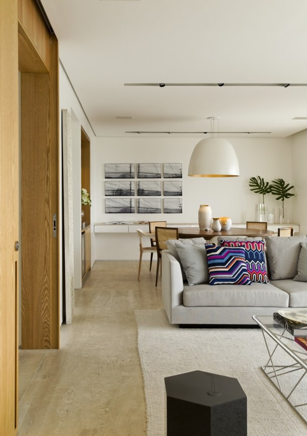 Panamby Apartment designed by Diego Revollo 4