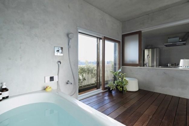 Bath Kitchen House designed by Takeshi Shikauchi 4