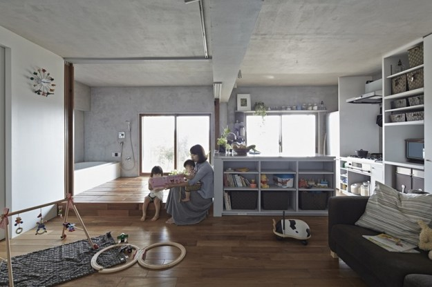 Bath Kitchen House designed by Takeshi Shikauchi 7