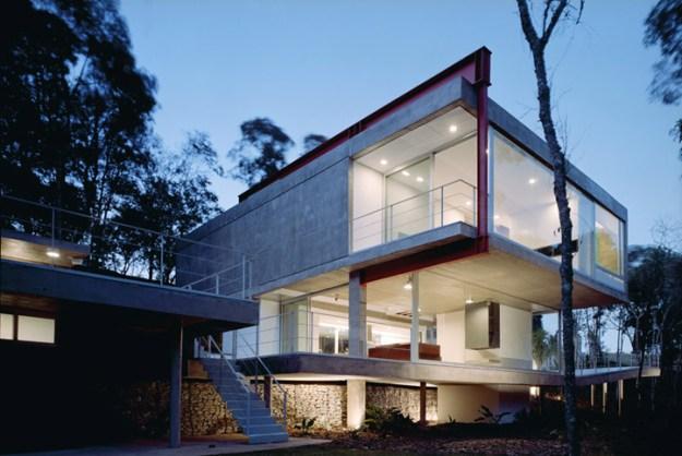 M.M. House designed by Andrade Morettin Arquitetos Associados 1