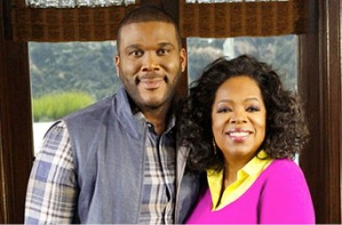 Oprah Helping Tyler Perry to Live His Dream