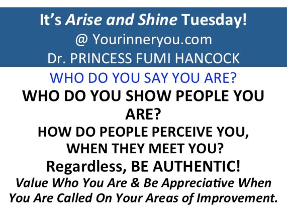 Its arise and shine Tuesday