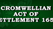 Cromwellian Act Of Settlement 1652