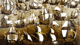 Arrival of Spanish Fleet at Smerwick