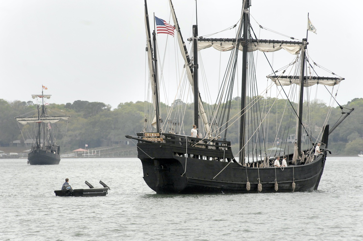Tour Columbus Ships Before They Sail Away Beaufort