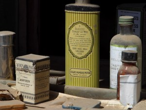 Our ancestor mixed folk medicine and practical knowledge in the 1890s