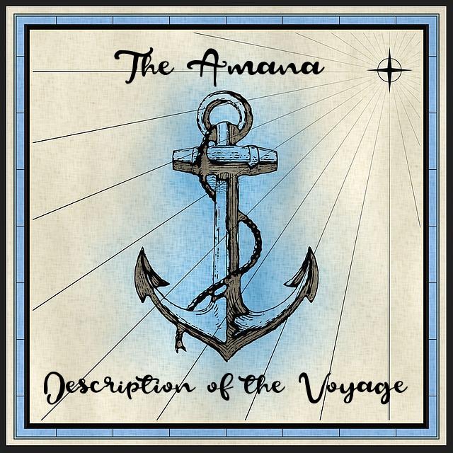 voyage ship amana 1886
