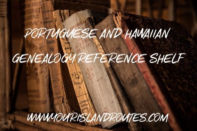 books genealogy reference shelf