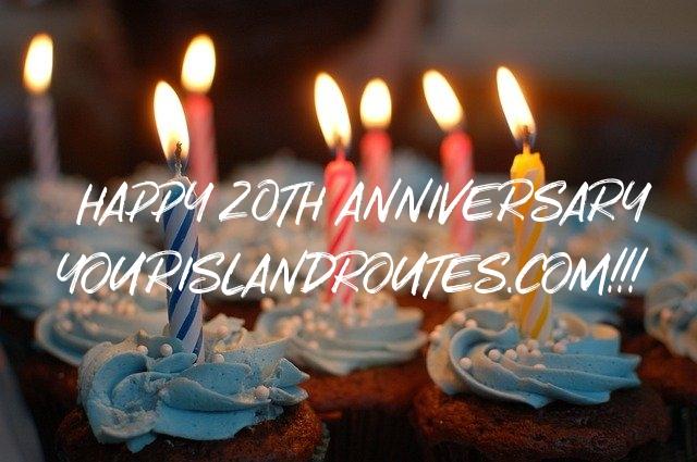 YourIslandRoutes celebrates 20th Anniversary