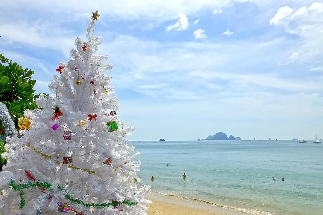 Christmas tree in Ao Nang