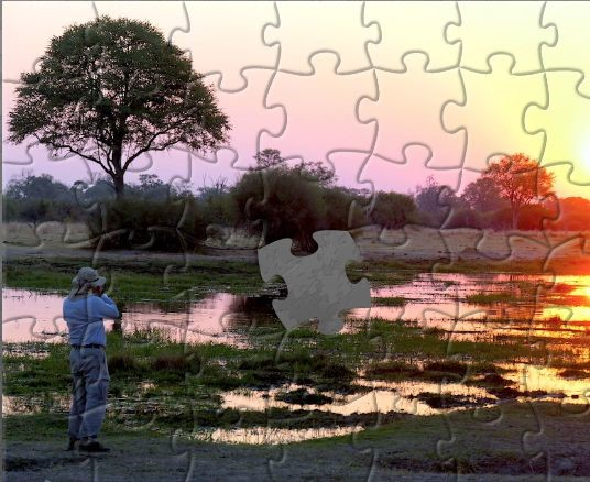 Botswana sunset example of content marketing ideas for small business