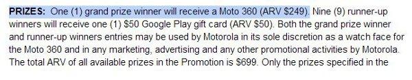 Prezzo Motorola Moto-360