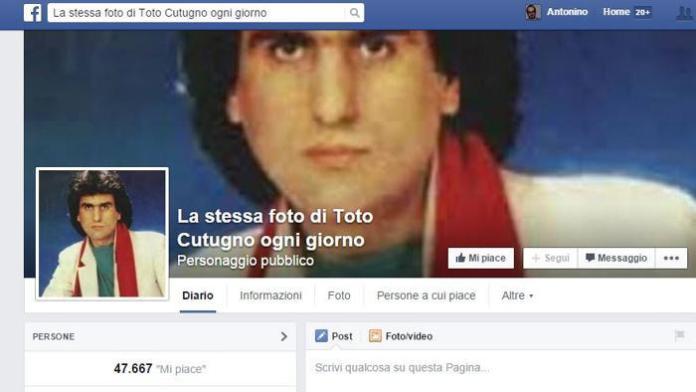 Facebook Toto Cutugno