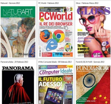 scaricare giornali gratis da internet