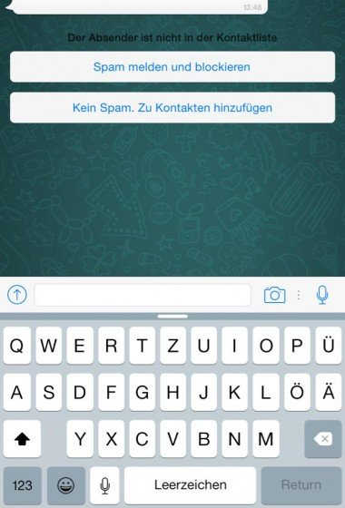 WhatsApp Ant-Spam