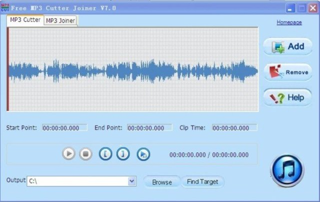 Free MP3 Cutter Joiner