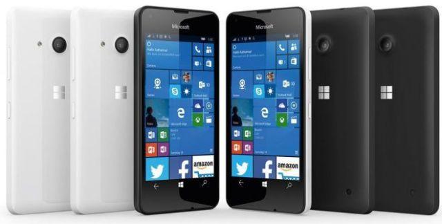 Microsoft presenta Lumia 550