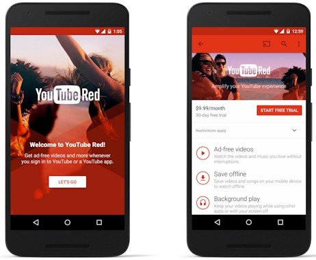 google-youtube-red
